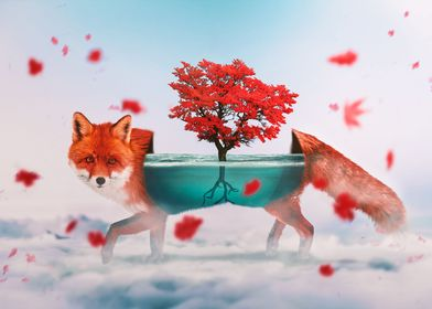 Foxy and Magical Tree