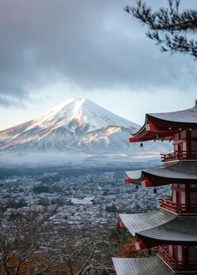 Fuji From Afar