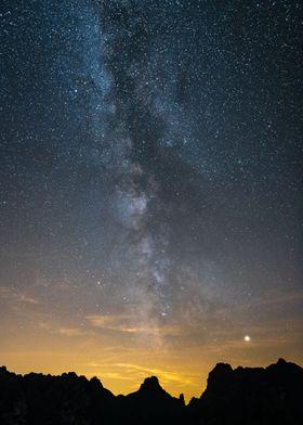 Dolomiti Night Sky