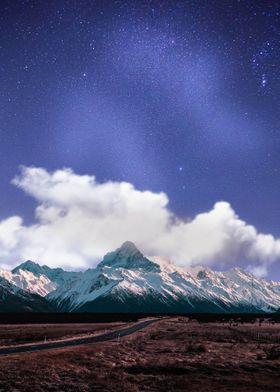 Beautiful Sky Over Peak