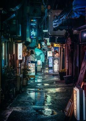 Walk in TOKYO rain