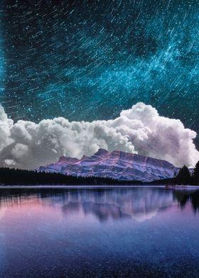 Magic Milky Way At Night
