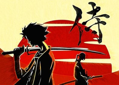 Anime Samurai Champloo