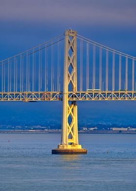 Light on Bay Bridge