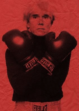 andy warhol moire