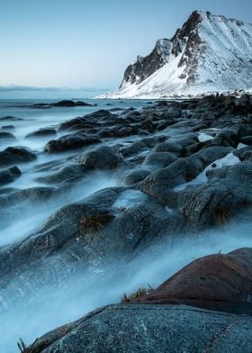 Blue Hour Lofoten Islands