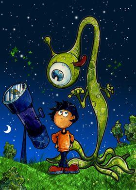 Astronomer Kid