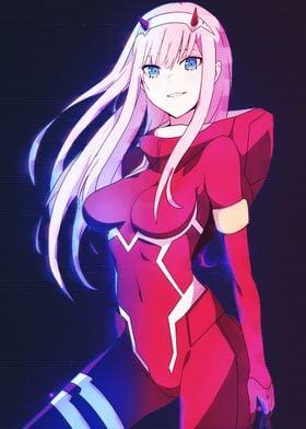 Anime Franxx Zero Two