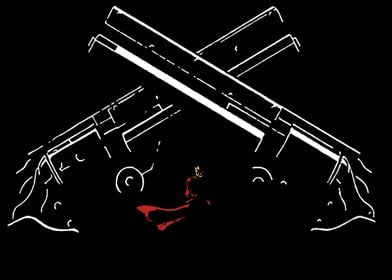 Trigun - Crossed Guns