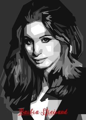 Barbra Streisand BW