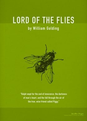 Lord of the Flies Book Art