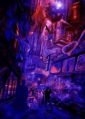 Strangers In T Night Neon