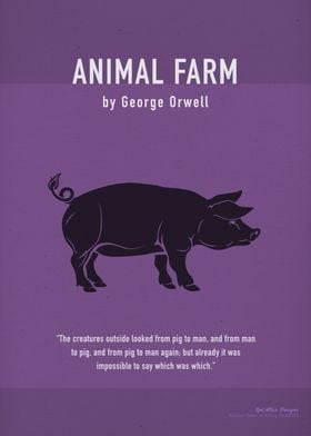 Animal Farm Orwell Art