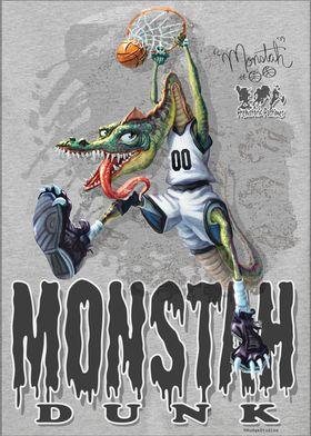 Monstah Dunk Dino Hoops