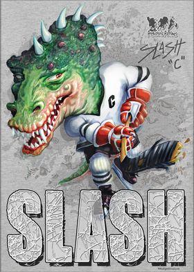 Slash T Rex Ice Hockey