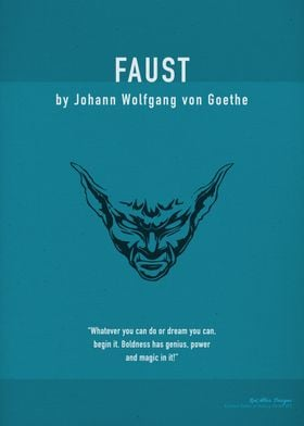 Faust by Goethe Book Art