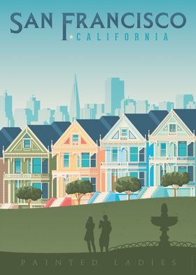 San Francisco Travel Print