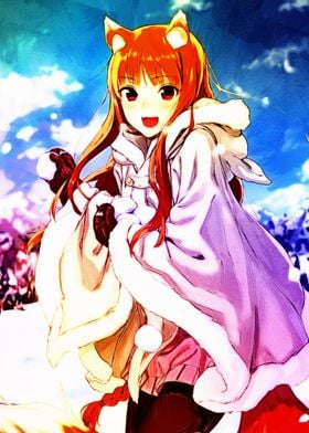 Anime Spice and Wolf Holo