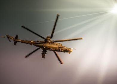 Mil Mi24 HuAF helicopter