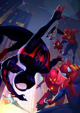 Heroes of the Spiderverse