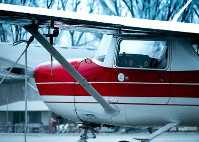 Cessna 150 in the Winter