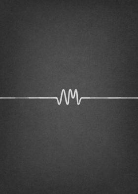 Arctic Monkeys Logo Poster