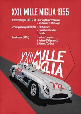 Mille Miglia XXII 1955