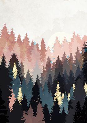Spring Forest Light
