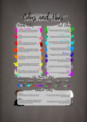 Color and Hues Chart