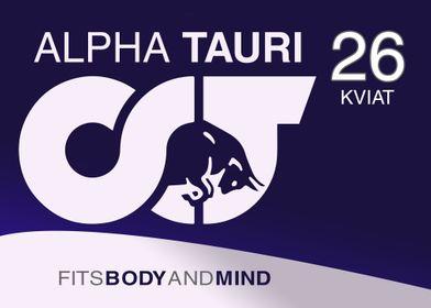 Kviat AlphaTauri Livery
