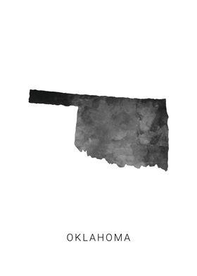 Oklahoma state map