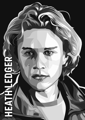 HEATH LEDGER BW