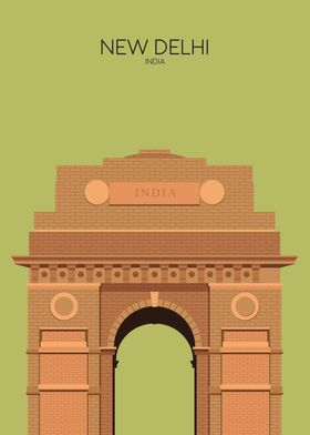 Delhi India Gate Snippet