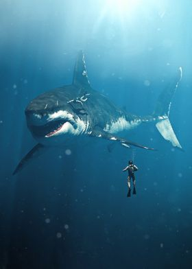 Diving with the Megalodon