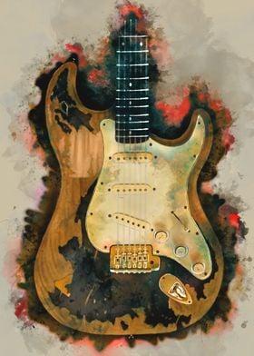 John Mayer electric guitar
