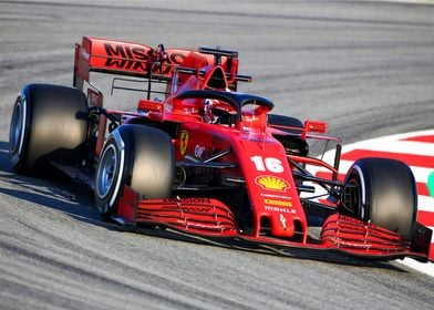 Charles Leclerc 2020 angle