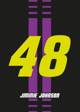 Jimmie Johnson NumPlate