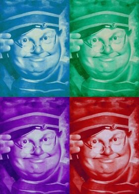 Benny Hill Four Colours