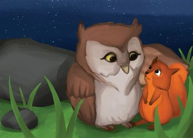 Owl and Elliot
