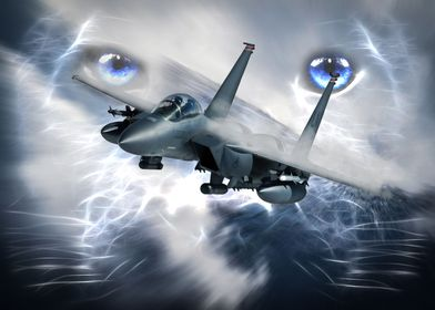 Panthers F15 Eagle