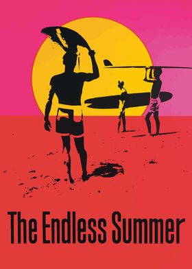 NEW THE ENDLESS SUMMER MOVIE POSTER PICTURE PRINT CHOOSE SIZE NEW ART DESIGN