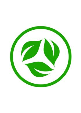 Organic leaf vegetarian