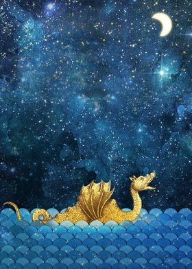 Sea Monster Dragon