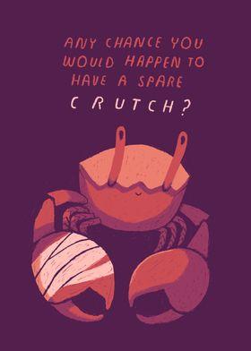 crippled crab crutch