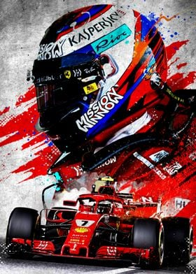 Formula 1 Alternative Poster Posters Art Set By Micho Abstract Displate