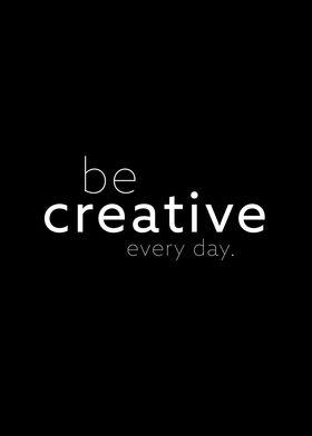 be creative II