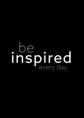 be inspired II