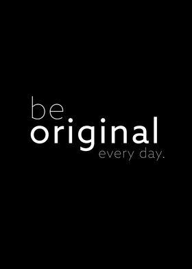 be original II