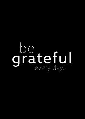 be grateful II