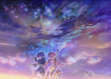 Yuru Camp Nadeshiko + Rin